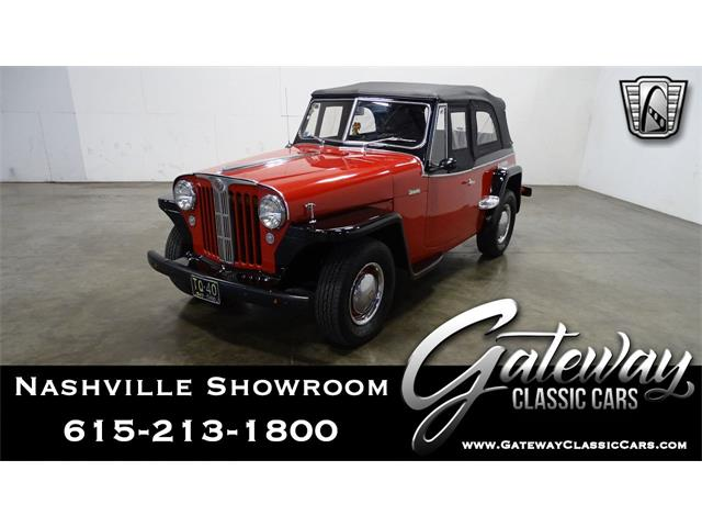 1949 Willys Jeepster (CC-1471586) for sale in O'Fallon, Illinois