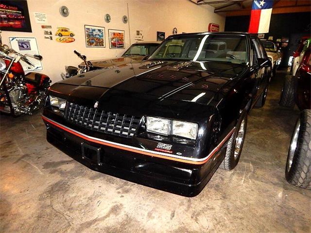 1986 Chevrolet Monte Carlo SS (CC-1471595) for sale in Wichita Falls, Texas