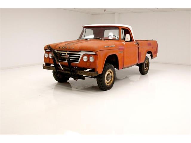 1963 Dodge W100 (CC-1471763) for sale in Morgantown, Pennsylvania