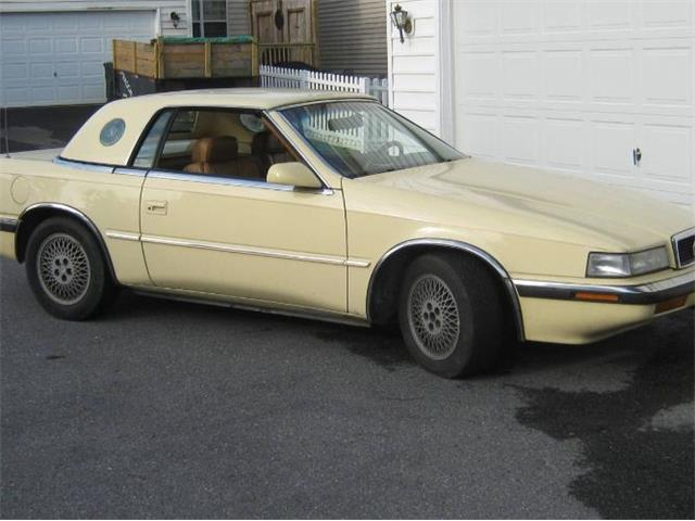 1989 Chrysler TC by Maserati (CC-1470185) for sale in Cadillac, Michigan