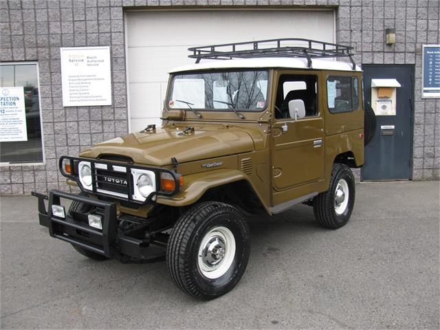 1981 Toyota Land Cruiser FJ40 (CC-1471897) for sale in Warrenton, Virginia