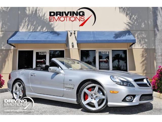 2009 Mercedes-Benz SL55 (CC-1470191) for sale in West Palm Beach, Florida