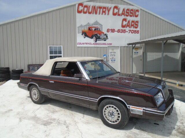 1982 Chrysler LeBaron (CC-1472138) for sale in Staunton, Illinois