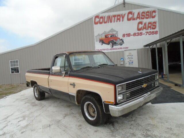1984 Chevrolet C10 (CC-1472148) for sale in Staunton, Illinois