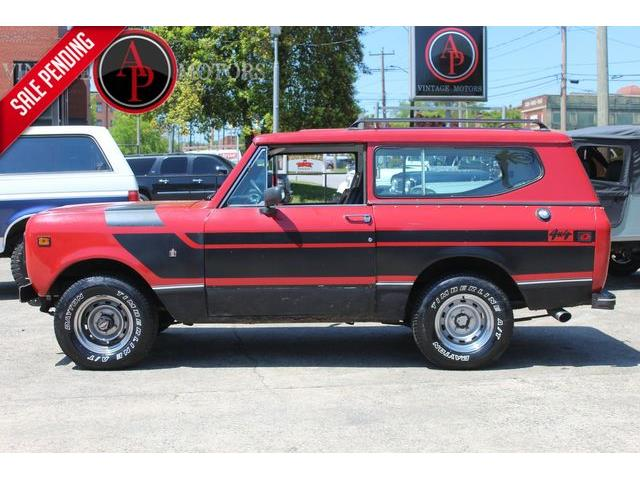 1979 International Scout (CC-1470220) for sale in Statesville, North Carolina