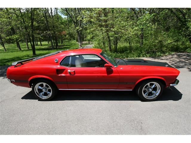 1969 Ford Mustang Mach 1 (CC-1472377) for sale in Edmond, Oklahoma