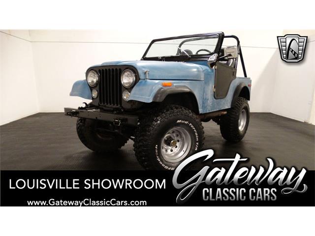 1976 Jeep CJ5 (CC-1472514) for sale in O'Fallon, Illinois