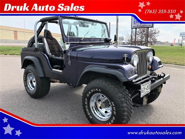 1967 Jeep CJ5 (CC-1470252) for sale in Ramsey, Minnesota