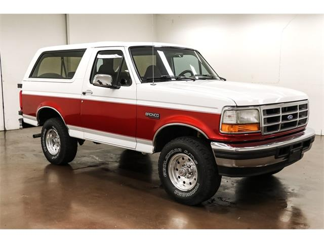 1996 Ford Bronco (CC-1470270) for sale in Sherman, Texas