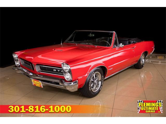1965 Pontiac GTO (CC-1470279) for sale in Rockville, Maryland