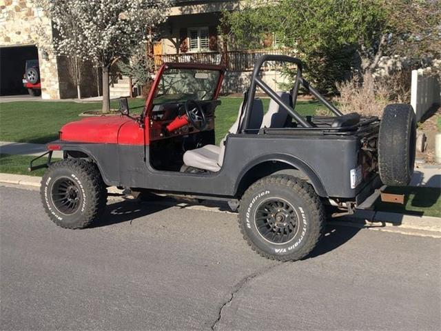 1985 Jeep CJ7 (CC-1472885) for sale in Cadillac, Michigan