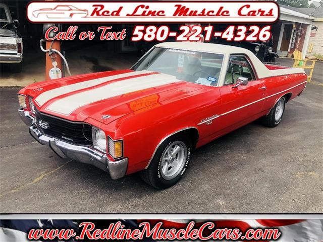 1972 Chevrolet El Camino (CC-1473031) for sale in Wilson, Oklahoma
