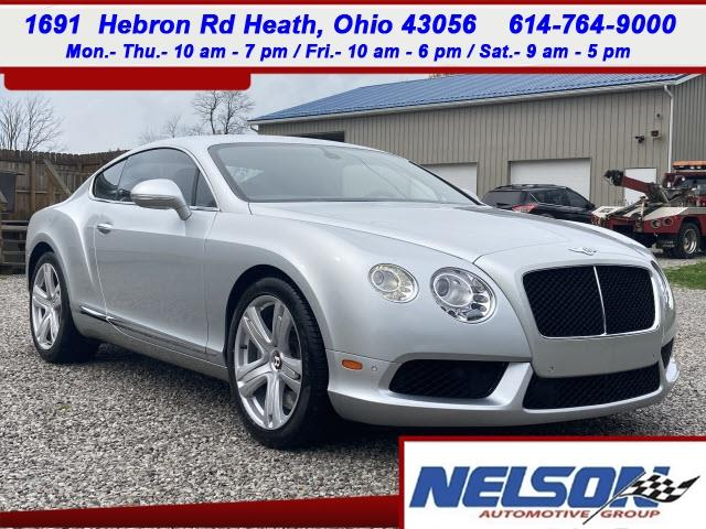 2013 Bentley Continental (CC-1470308) for sale in Marysville, Ohio