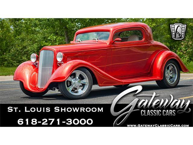 1934 Chevrolet 3-Window Pickup (CC-1473397) for sale in O'Fallon, Illinois