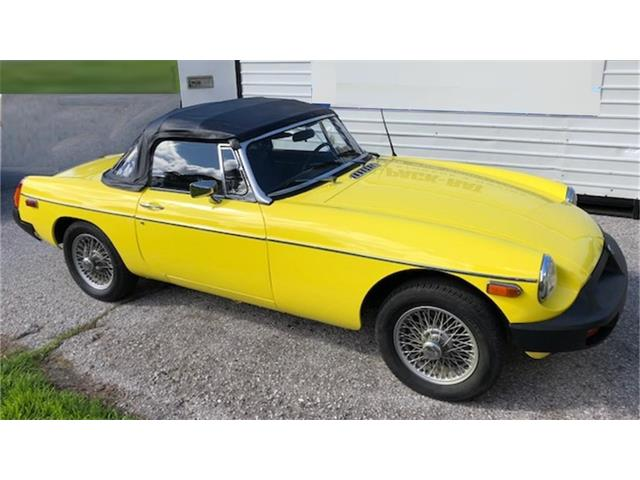 1979 MG MGB (CC-1473409) for sale in GREAT FALLS, Virginia