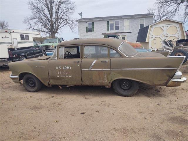 1957 Chevrolet 4-Dr Sedan (CC-1473854) for sale in Parkers Prairie, Minnesota