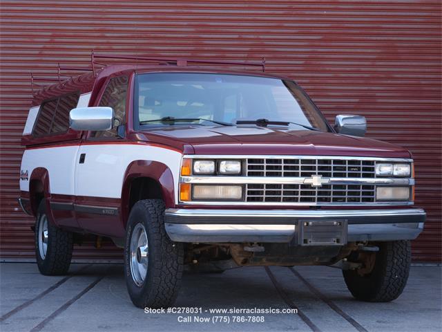 1989 Chevrolet K-2500 (CC-1474090) for sale in Reno, Nevada