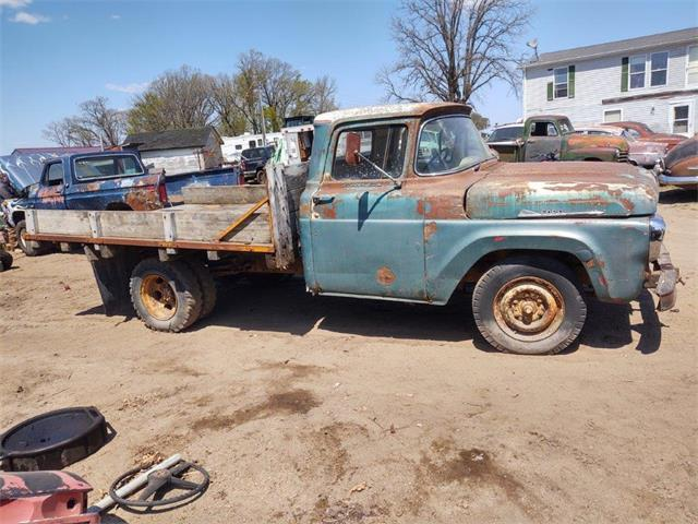 1958 Ford 1-Ton Pickup (CC-1474110) for sale in Parkers Prairie, Minnesota