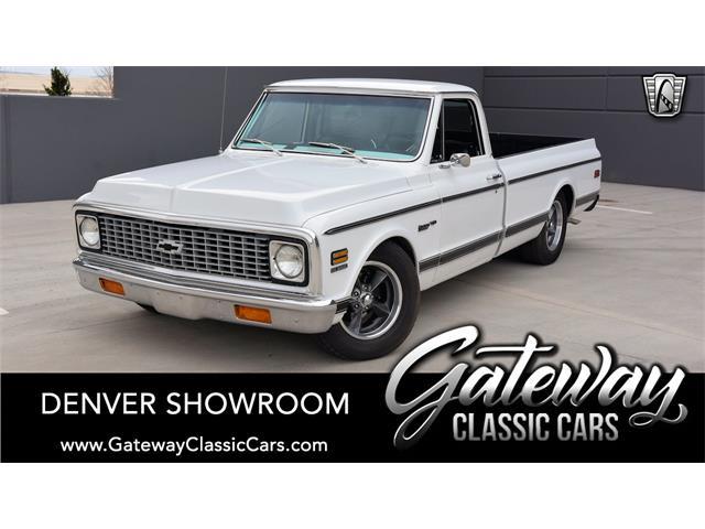 1972 Chevrolet C10 (CC-1470445) for sale in O'Fallon, Illinois