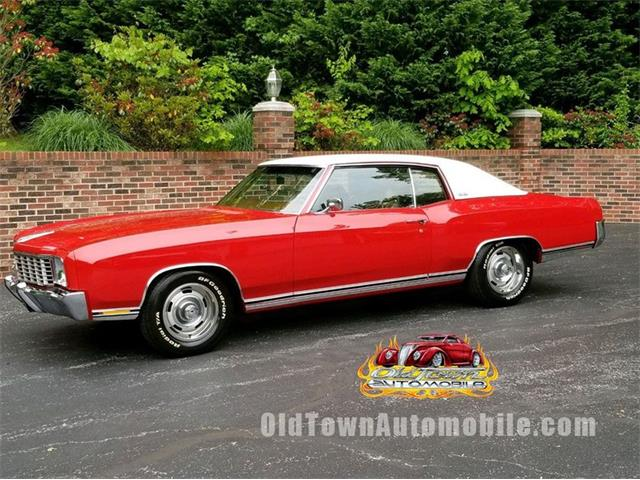 1972 Chevrolet Monte Carlo (CC-1474605) for sale in Huntingtown, Maryland