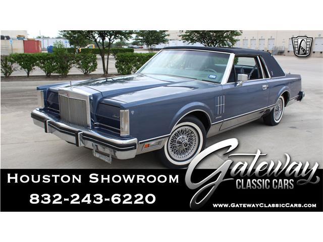 1983 Lincoln Continental (CC-1474779) for sale in O'Fallon, Illinois