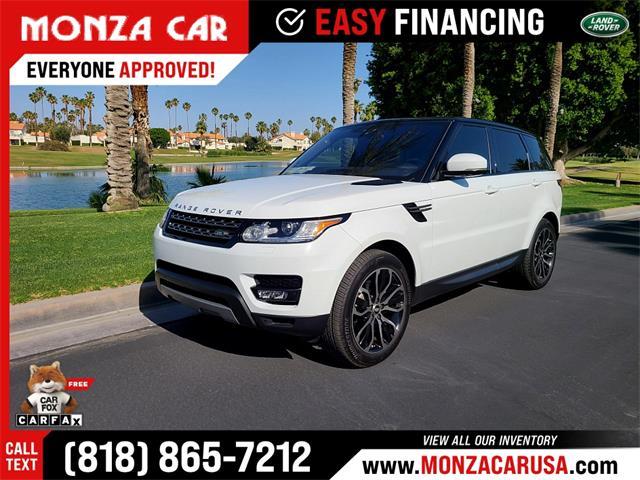 2017 Land Rover Range Rover Sport (CC-1474846) for sale in Sherman Oaks, California