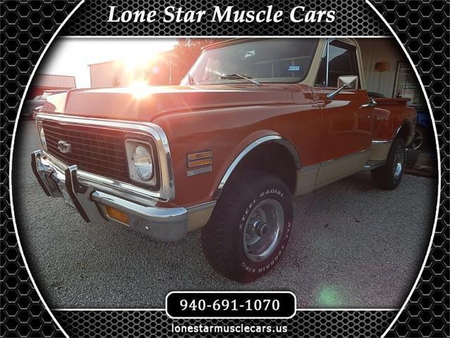 1972 Chevrolet K-10 (CC-1474884) for sale in Wichita Falls, Texas