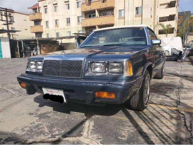 1986 Chrysler LeBaron (CC-1475302) for sale in Cadillac, Michigan