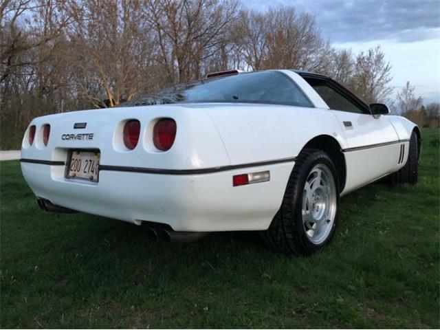 1990 Chevrolet Corvette (CC-1470549) for sale in Cadillac, Michigan