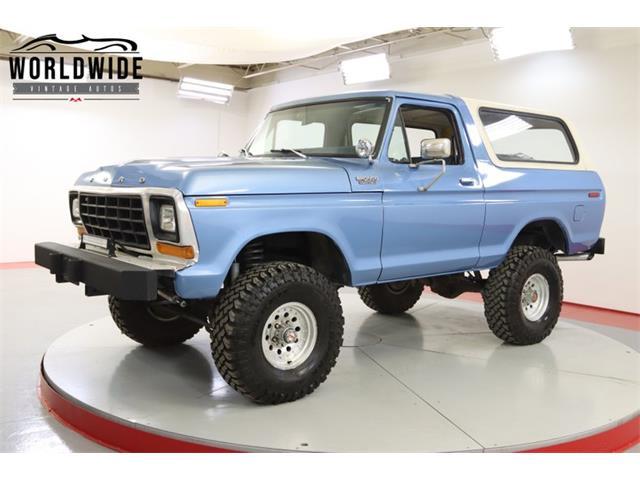 1979 Ford Bronco (CC-1475567) for sale in Denver , Colorado
