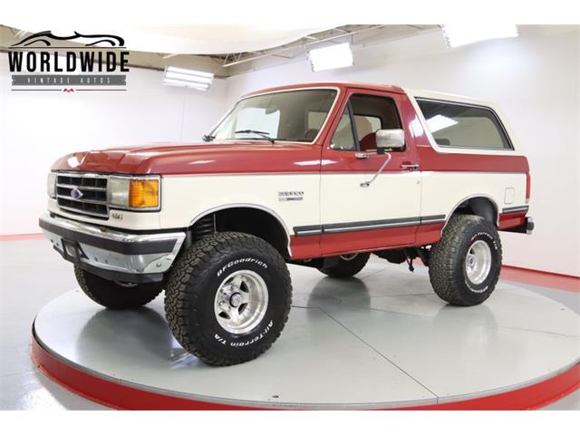 1990 Ford Bronco (CC-1475588) for sale in Denver , Colorado