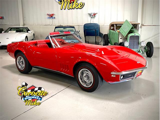 1968 Chevrolet Corvette (CC-1475711) for sale in Burr Ridge, Illinois