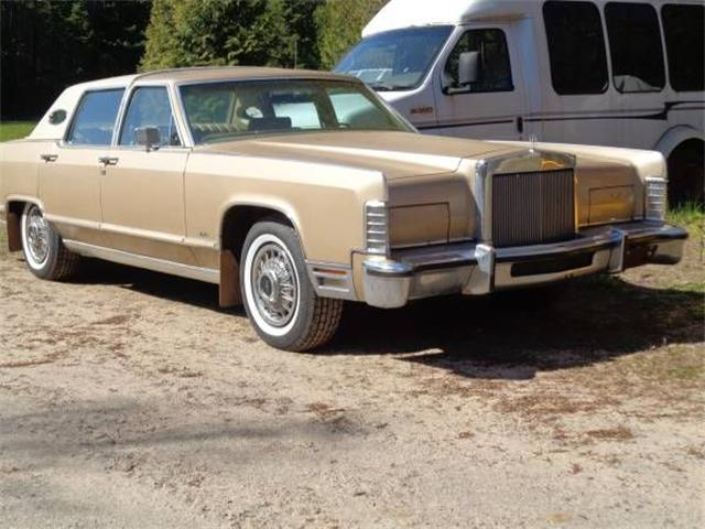 1978 Lincoln Town Car (CC-1475922) for sale in Cadillac, Michigan