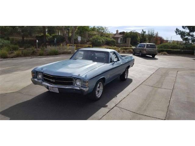 1971 Chevrolet El Camino (CC-1476243) for sale in Cadillac, Michigan