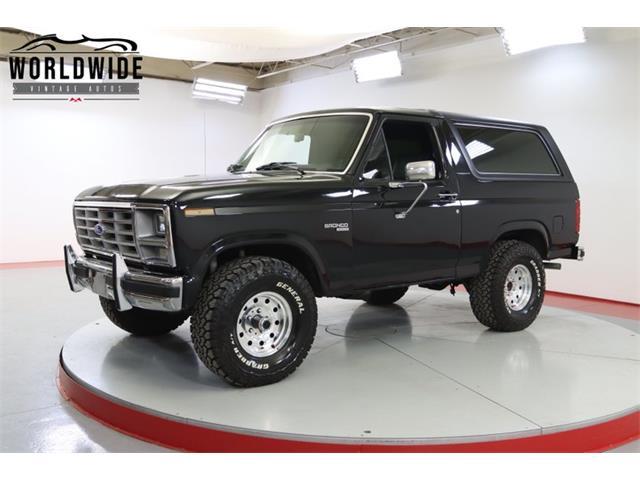 1985 Ford Bronco (CC-1476560) for sale in Denver , Colorado