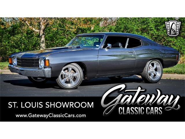 1972 Chevrolet Chevelle (CC-1470675) for sale in O'Fallon, Illinois