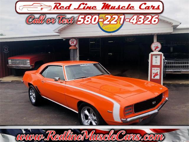 1969 Chevrolet Camaro RS/SS (CC-1470696) for sale in Wilson, Oklahoma