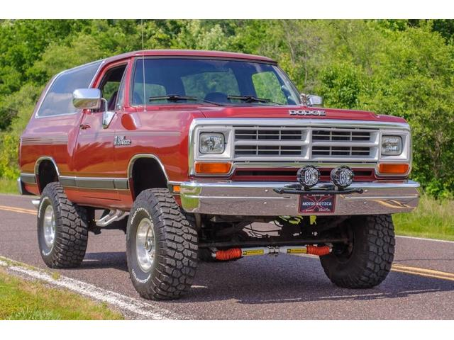 1989 Dodge Ramcharger (CC-1476969) for sale in St. Louis, Missouri