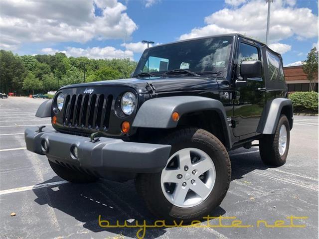 2012 Jeep Wrangler (CC-1477070) for sale in Atlanta, Georgia