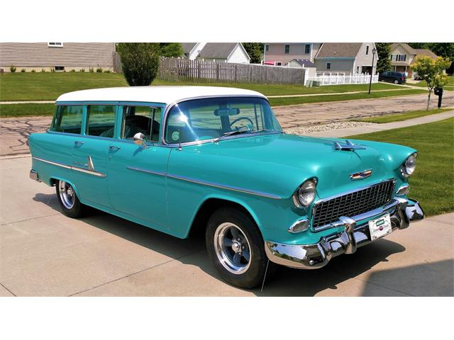 1955 Chevrolet Bel Air Wagon (CC-1470737) for sale in LAPEER, Michigan