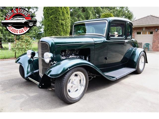 1932 Ford 5-Window Coupe (CC-1477508) for sale in Mount Vernon, Washington