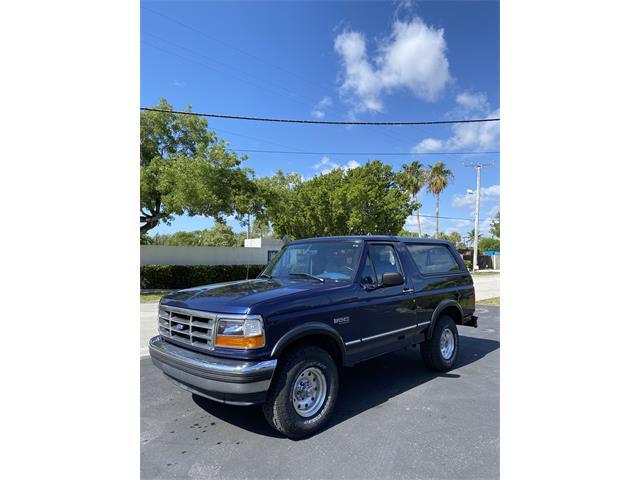 1995 Ford Bronco (CC-1477659) for sale in North Miami Beach, Florida