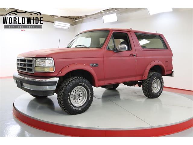 1995 Ford Bronco (CC-1477708) for sale in Denver , Colorado