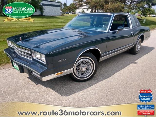 1985 Chevrolet Monte Carlo (CC-1477773) for sale in Dublin, Ohio