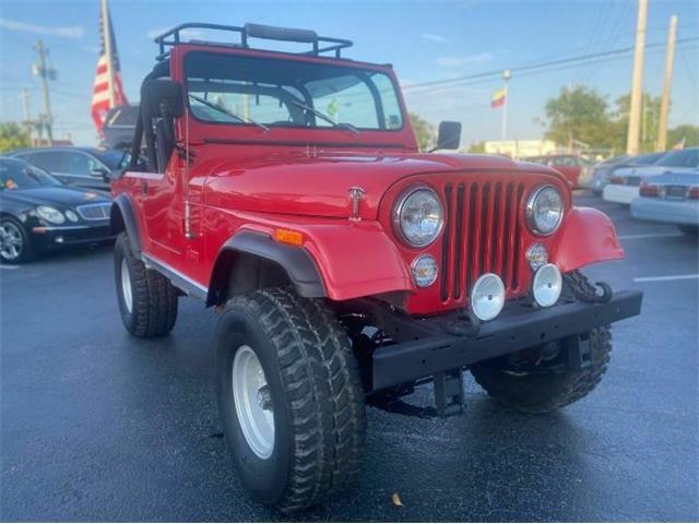 1979 Jeep CJ7 (CC-1478364) for sale in Cadillac, Michigan