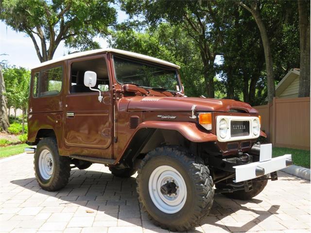 1980 Toyota Land Cruiser FJ40 (CC-1478375) for sale in Lakeland, Florida
