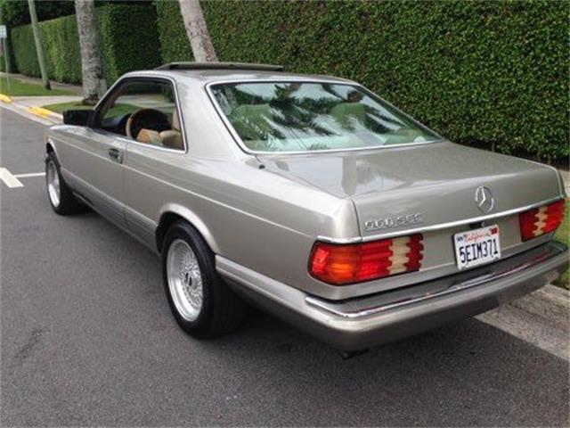 1991 Mercedes-Benz 560SEC (CC-1478380) for sale in Cadillac, Michigan