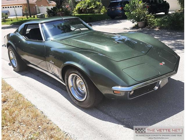 1969 Chevrolet Corvette (CC-1478524) for sale in Sarasota, Florida