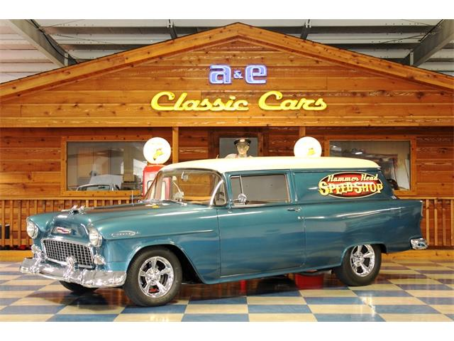 1955 Chevrolet Station Wagon (CC-1478593) for sale in New Braunfels , Texas