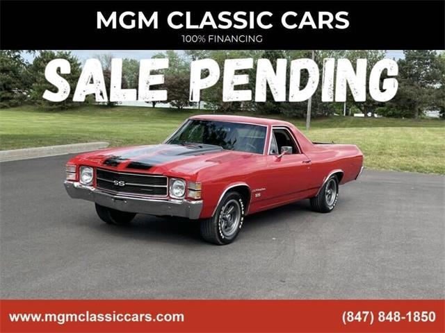 1971 Chevrolet El Camino (CC-1478800) for sale in Addison, Illinois